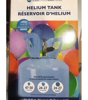 Bonbonne d'helium portable