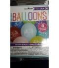 Ballon Bonne Fête paquet de 8