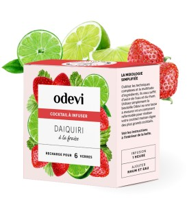 Strawberry Daiquiri ODEVI INFUSABLE COCKTAIL