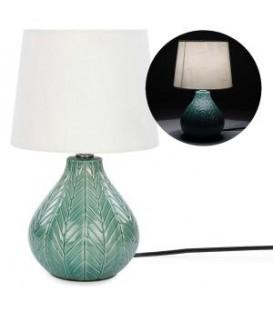 Table lamp with aqua base