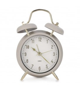 Alarm clock in beige