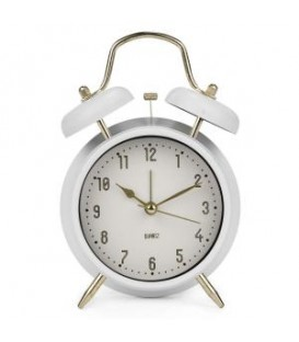 Alarm clock in white