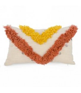 Orange and Yellow cushion