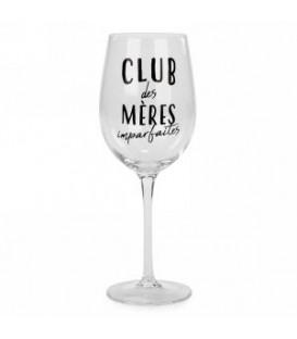 Verre à vin CLUB DES MÈRES IMPARFAITES