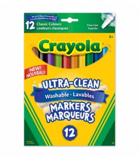 Ultra-Clean Washable Fine Line Markers CLASSIC COLOURS