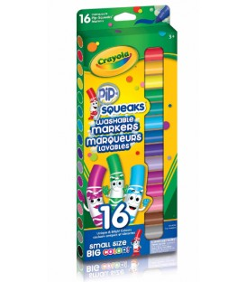 Marqueurs Lavables Crayola Pip-Squeaks, Large Gamme