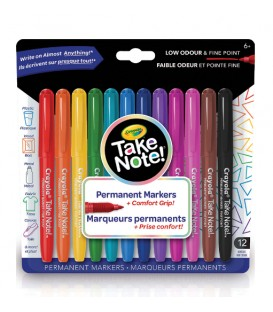 Take Note! Permanent Markers
