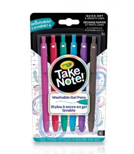 Take Note! Washable Gel Pens