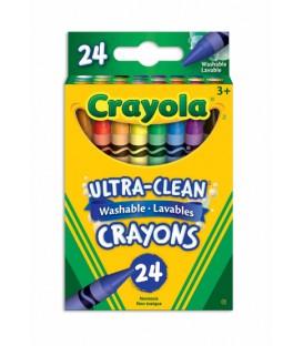 Crayons de cire lavables Ultra-Propres