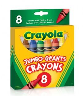 Crayons de cire couleur Jumbo