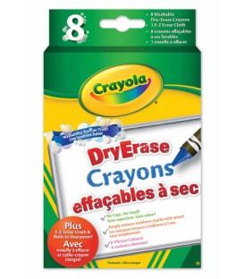 Dry-Erase Washable Crayons