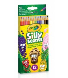 Crayons de couleur de bois Silly Scents