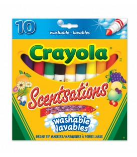 Scentsations Washable Broad Line Markers