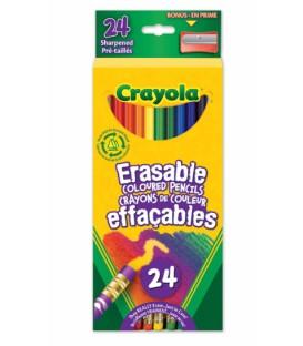 Crayons De Couleur Effaçables