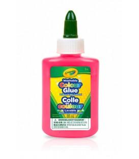 Colle Lavable De Couleur Mango Tango
