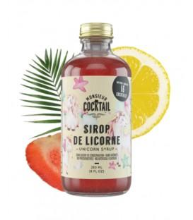 Unicorn syrup - Monsieur Cocktail
