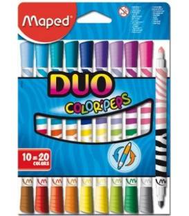Crayon feutre duo MAPED