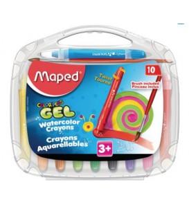 Crayon gel avec pinceau MAPED