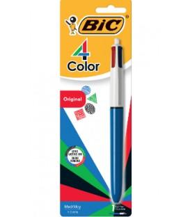 Stylo rétractable BIC 4 couleurs