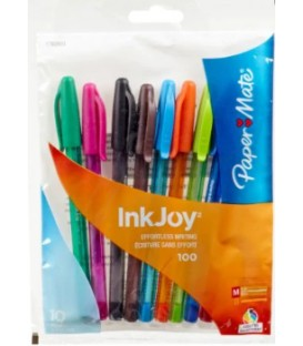 Pack of 10 colours pens inKJoy