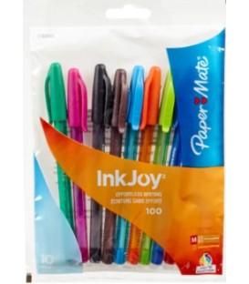 Paquet de 10 crayons InKJoy de couleur