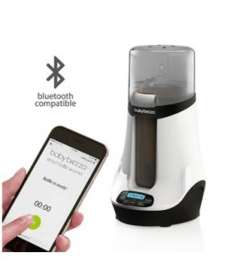 Chauffe-biberon doté de la technologie Bluetooth BabyBrezza