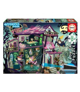 100 pieces Mysterious puzzle - Ghost House French version
