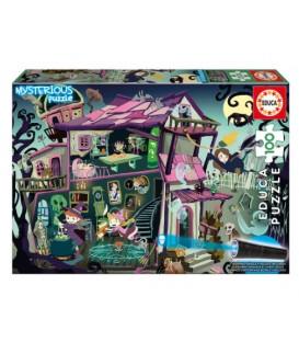Puzzle mystérieux de 100 pièces - Ghost House version française