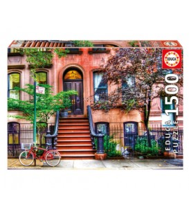 1500 pieces puzzle - Greenwich Village, New York