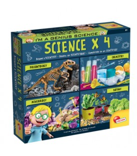 I'm a Genius - Kit scientifique x 4 Version bilingue