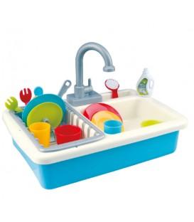 Évier de cuisine lavable et accessoires