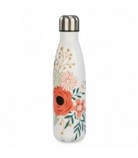 Floral thermo bottle
