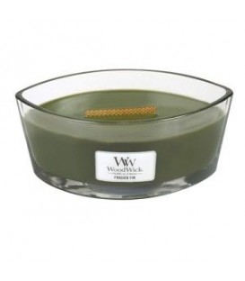 CANDLE CRACKING ELLIPSE WOODWICK FRAISIER FIR