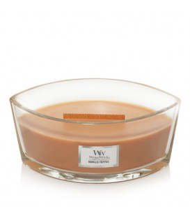 CANDLE CRACKING ELLIPSE WOODWICK TOFFEE