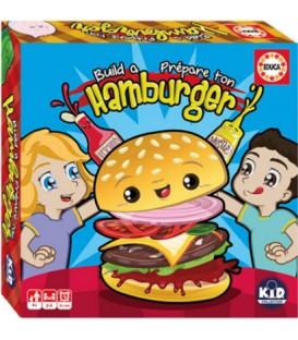Game Build a Burger