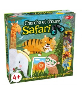 Cherche et trouve Safari French version
