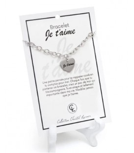 Bracelet I love you in french CHANTAL LACROIX