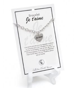 Bracelet Je t'aime CHANTAL LACROIX