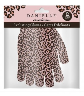 Exoliating gloves