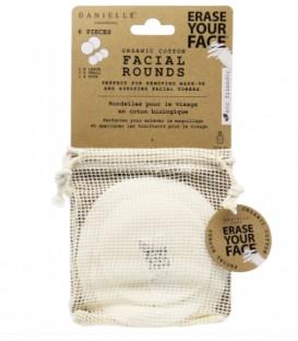 Facial round organic cotton