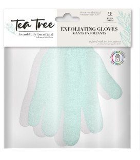 Exoliating gloves