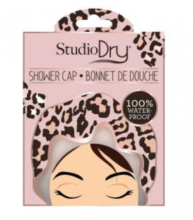 Bonnet de bain léopard