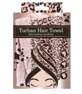 Serviette turban pour les cheveux
