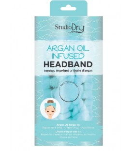 Argan oil infused headband