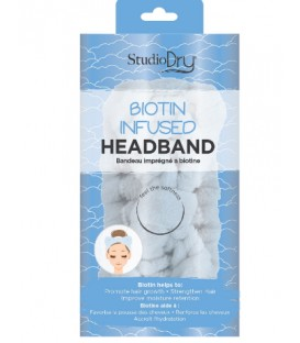 Biotine infused headband