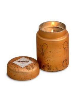 HIMALAYAN CANDLE SUNSET ORANGE