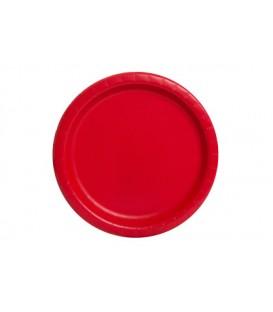 """Powder Blue Solid Round 9"""" Dinner Plates, 8ct"""