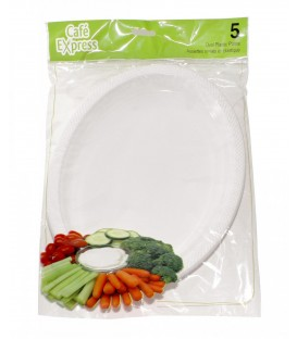 Oval plates pkg 5
