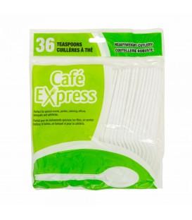 36 pkg plastic teaspoons