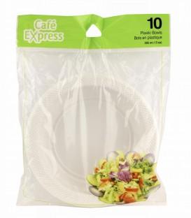 Plastic bowls pkg 10